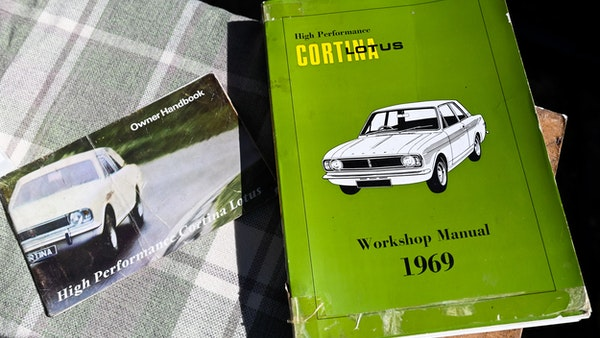 1967 Ford Lotus Cortina Mark II Crayford Convertible For Sale (picture 201 of 229)