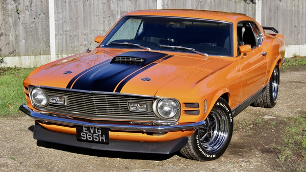 1970 Ford Mustang Mach 1 For Sale (picture 7 of 109)