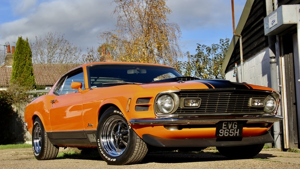 1970 Ford Mustang Mach 1 For Sale (picture 16 of 109)
