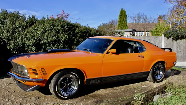 1970 Ford Mustang Mach 1 For Sale (picture 12 of 109)