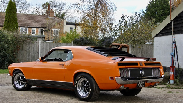 1970 Ford Mustang Mach 1 For Sale (picture 19 of 109)