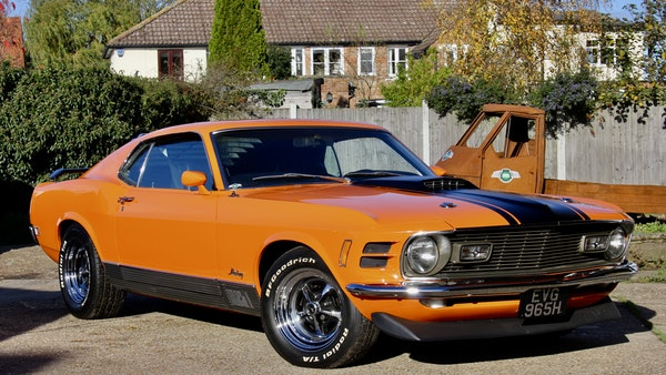 1970 Ford Mustang Mach 1 For Sale (picture 4 of 109)