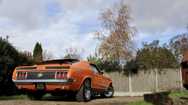 1970 Ford Mustang Mach 1 For Sale (picture 18 of 109)