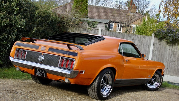 1970 Ford Mustang Mach 1 For Sale (picture 17 of 109)