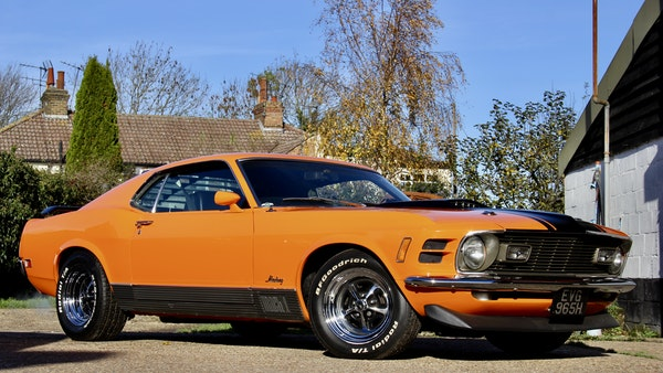 1970 Ford Mustang Mach 1 For Sale (picture 14 of 109)