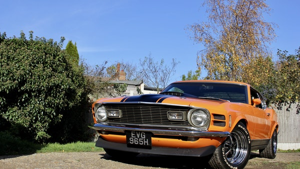 1970 Ford Mustang Mach 1 For Sale (picture 11 of 109)