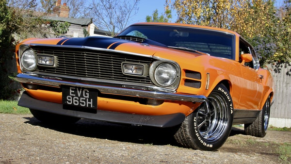 1970 Ford Mustang Mach 1 For Sale (picture 10 of 109)