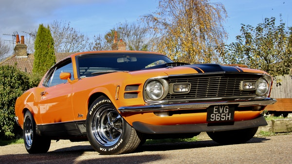 1970 Ford Mustang Mach 1 For Sale (picture 15 of 109)