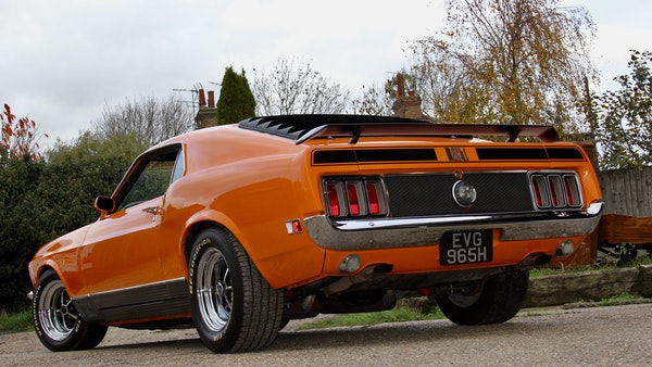 1970 Ford Mustang Mach 1 For Sale (picture 21 of 109)