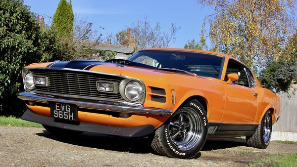 1970 Ford Mustang Mach 1 For Sale (picture 1 of 109)