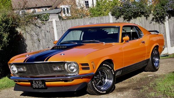 1970 Ford Mustang Mach 1 For Sale (picture 9 of 109)