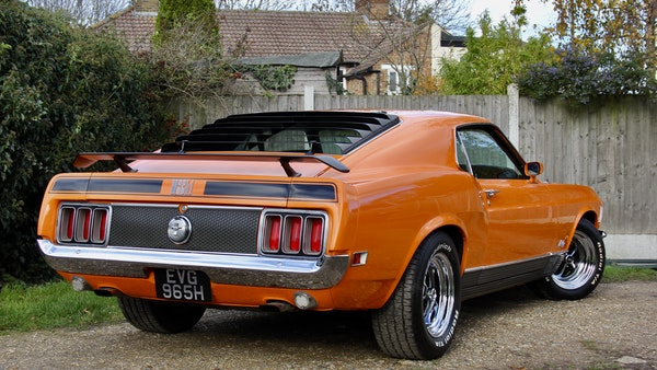 1970 Ford Mustang Mach 1 For Sale (picture 5 of 109)