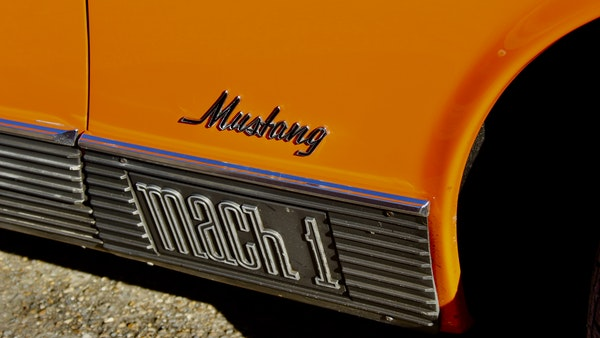 1970 Ford Mustang Mach 1 For Sale (picture 53 of 109)