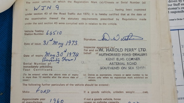1960 Ford Prefect For Sale (picture 162 of 199)