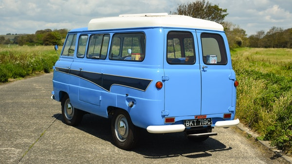 RESERVE LOWERED -1965 FORD THAMES 400e DORMOBILE For Sale (picture 16 of 139)