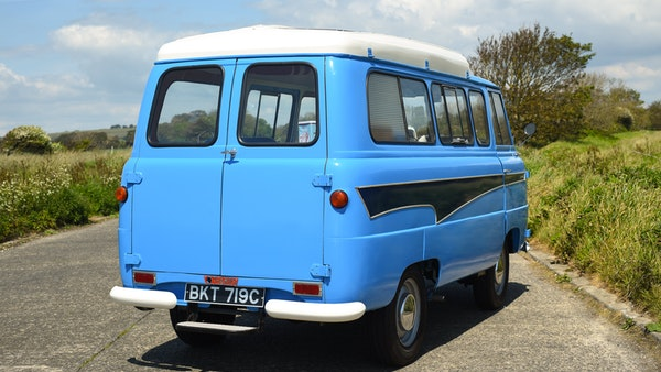 RESERVE LOWERED -1965 FORD THAMES 400e DORMOBILE For Sale (picture 21 of 139)