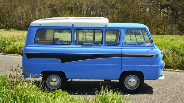 RESERVE LOWERED -1965 FORD THAMES 400e DORMOBILE For Sale (picture 19 of 139)