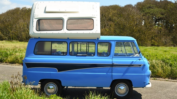 RESERVE LOWERED -1965 FORD THAMES 400e DORMOBILE For Sale (picture 28 of 139)