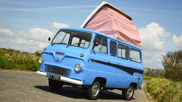 RESERVE LOWERED -1965 FORD THAMES 400e DORMOBILE For Sale (picture 32 of 139)