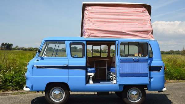 RESERVE LOWERED -1965 FORD THAMES 400e DORMOBILE For Sale (picture 36 of 139)