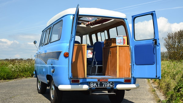 RESERVE LOWERED -1965 FORD THAMES 400e DORMOBILE For Sale (picture 80 of 139)