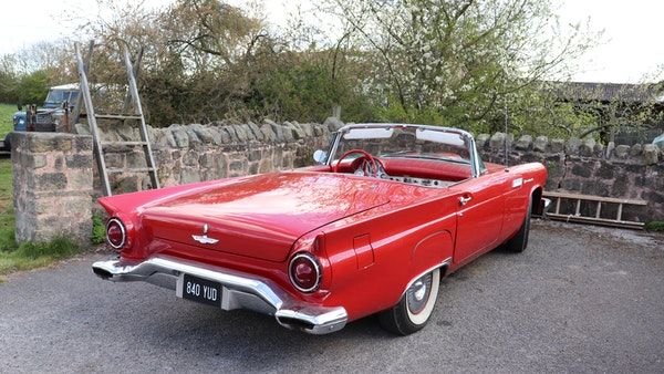 1957 Ford Thunderbird For Sale (picture 12 of 133)