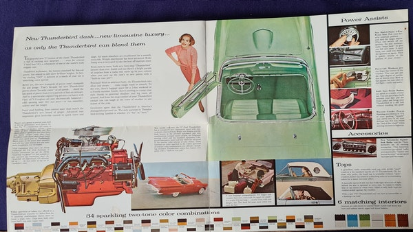 1957 Ford Thunderbird For Sale (picture 130 of 133)
