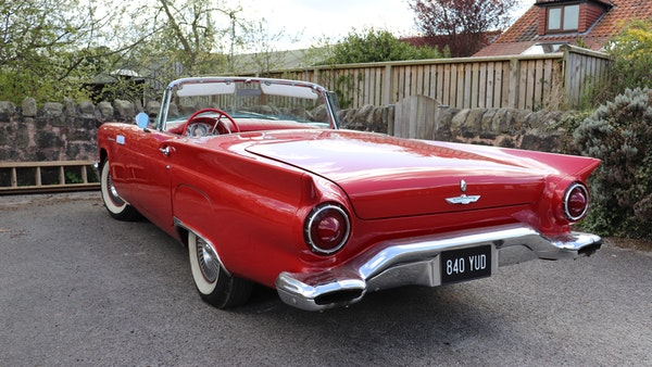 1957 Ford Thunderbird For Sale (picture 17 of 133)