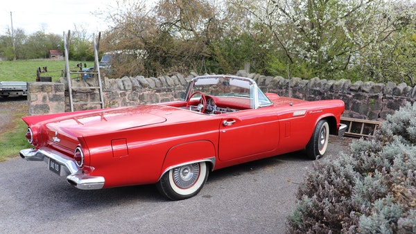 1957 Ford Thunderbird For Sale (picture 21 of 133)