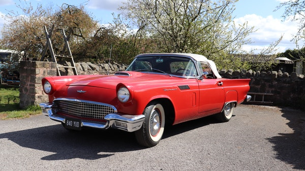 1957 Ford Thunderbird For Sale (picture 1 of 133)