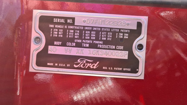 1957 Ford Thunderbird For Sale (picture 50 of 133)
