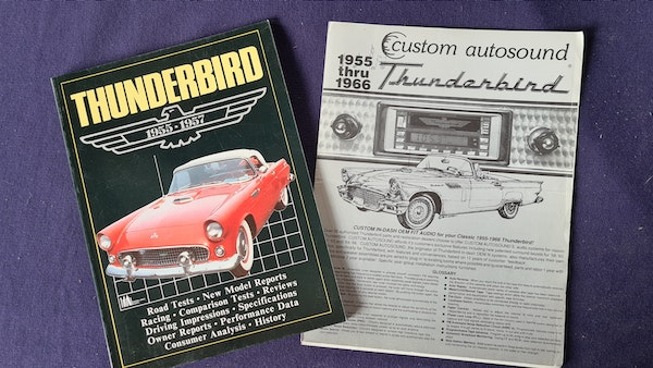 1957 Ford Thunderbird For Sale (picture 132 of 133)