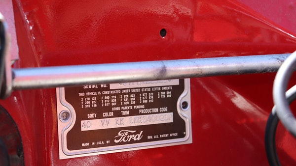 1957 Ford Thunderbird For Sale (picture 62 of 133)