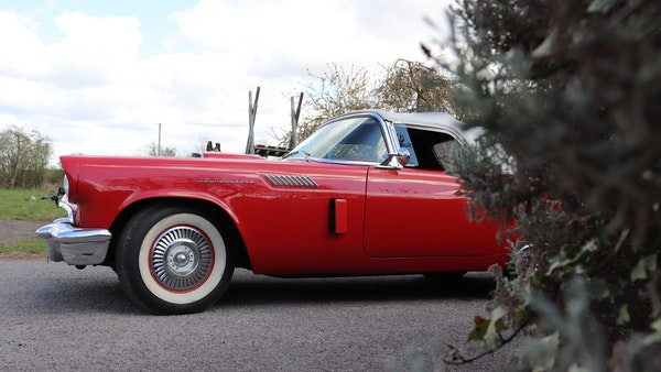 1957 Ford Thunderbird For Sale (picture 11 of 133)