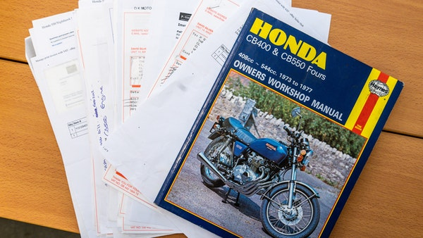 RESERVE LOWERED - 1978 Honda 550 Four For Sale (picture 105 of 106)