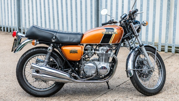 RESERVE LOWERED - 1978 Honda 550 Four For Sale (picture 4 of 106)