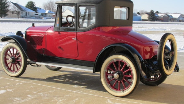 RESERVE LOWERED - 1922 Hupmobile Roadster Coupé For Sale (picture 3 of 32)