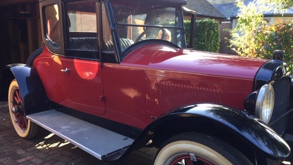 RESERVE LOWERED - 1922 Hupmobile Roadster Coupé For Sale (picture 9 of 32)