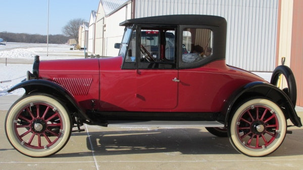 RESERVE LOWERED - 1922 Hupmobile Roadster Coupé For Sale (picture 5 of 32)