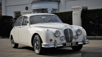 RESERVE LOWERED - 1960 Jaguar MK II 3.8