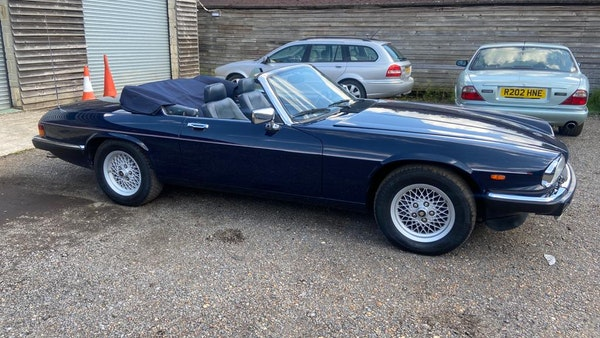 1990 Jaguar XJ-S V12 Convertible LHD For Sale (picture 8 of 120)