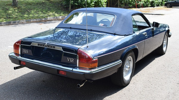 1990 Jaguar XJ-S V12 Convertible LHD For Sale (picture 17 of 120)