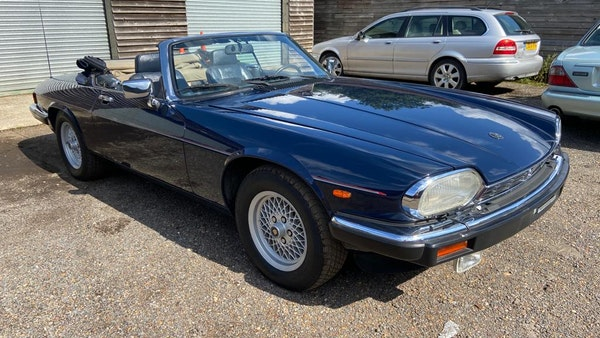1990 Jaguar XJ-S V12 Convertible LHD For Sale (picture 1 of 120)
