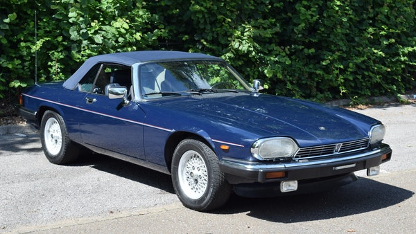 1990 Jaguar XJ-S V12 Convertible LHD For Sale (picture 20 of 120)