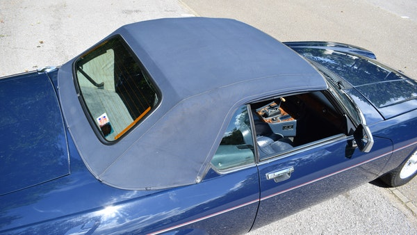 1990 Jaguar XJ-S V12 Convertible LHD For Sale (picture 87 of 120)