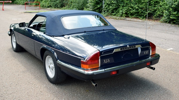 1990 Jaguar XJ-S V12 Convertible LHD For Sale (picture 19 of 120)