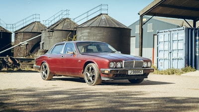 1989 Jaguar XJ40 project cars with Lister modifications