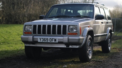 2001 Jeep Cherokee 60th Anniversary Edition