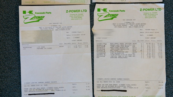 1972 Kawasaki H2 750 For Sale (picture 121 of 129)