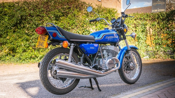 1972 Kawasaki H2 750 For Sale (picture 9 of 129)